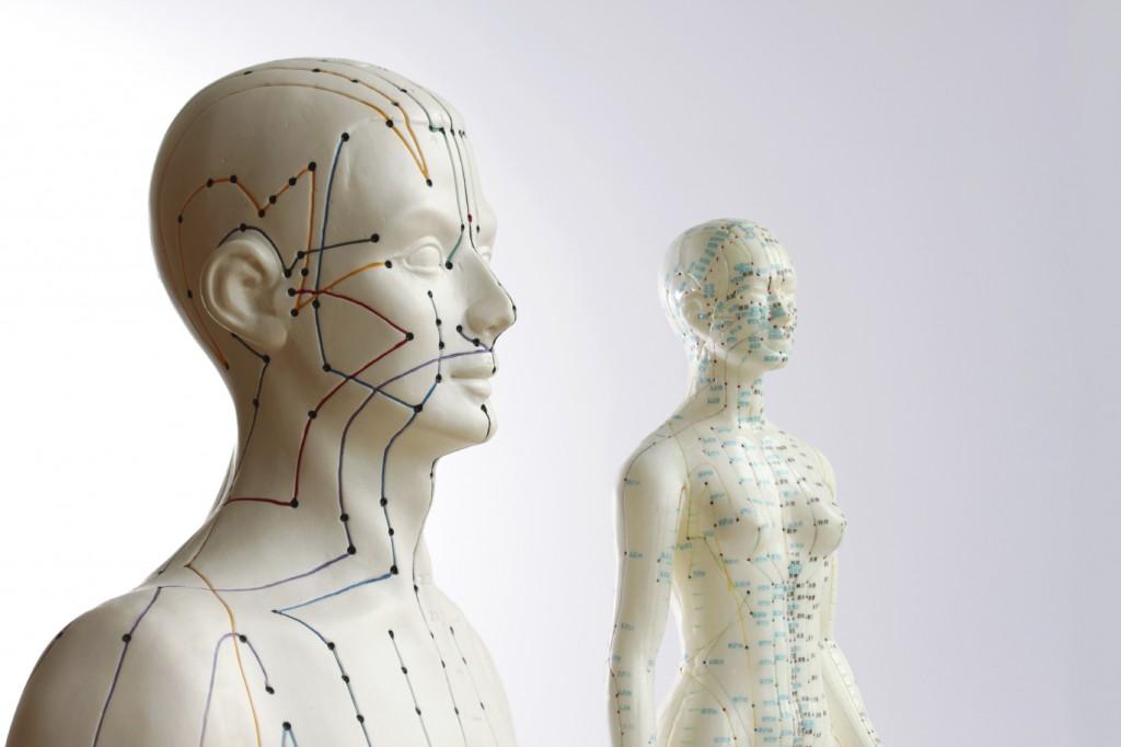Akupunktur-Meridiane